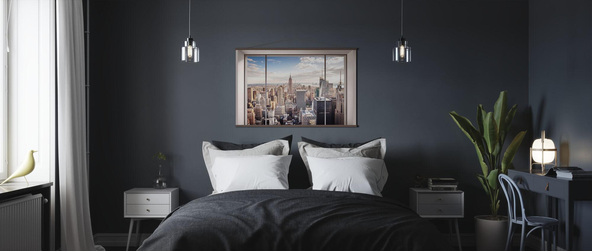 Manhattan Skyline - Poster - Bedroom