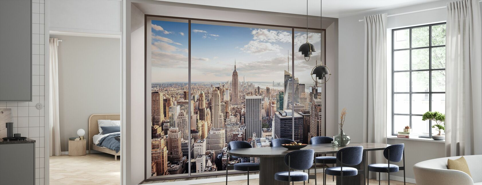 Manhattan Skyline - Wallpaper - Kitchen