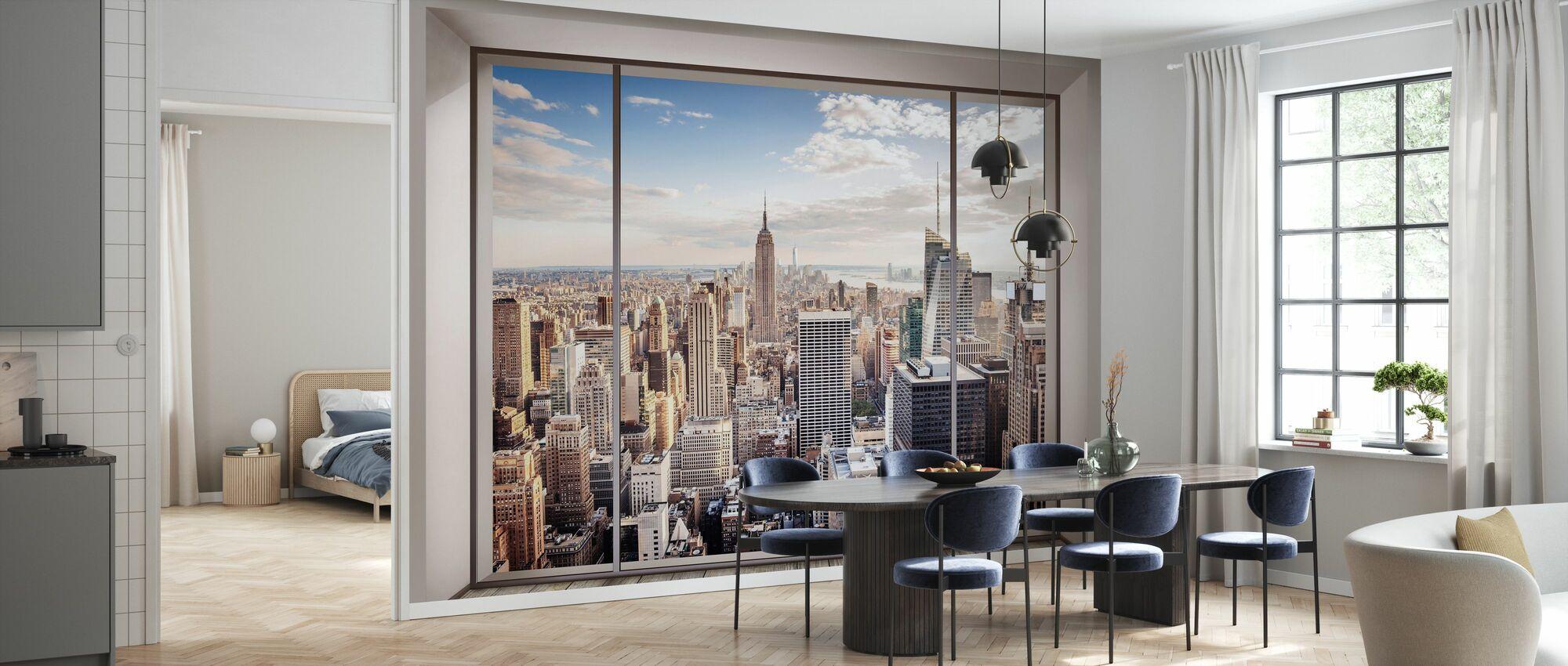 Manhattans skyline - Tapet - Kök