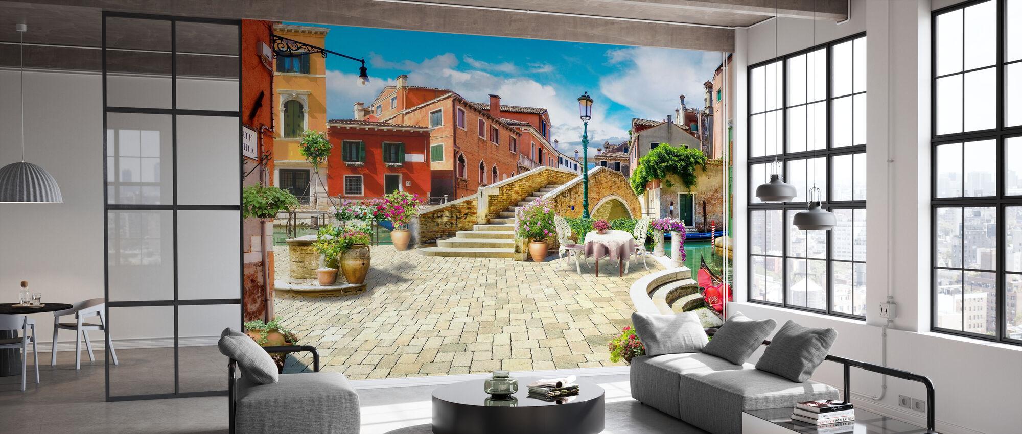 Venice Bridge II - Wallpaper - Office