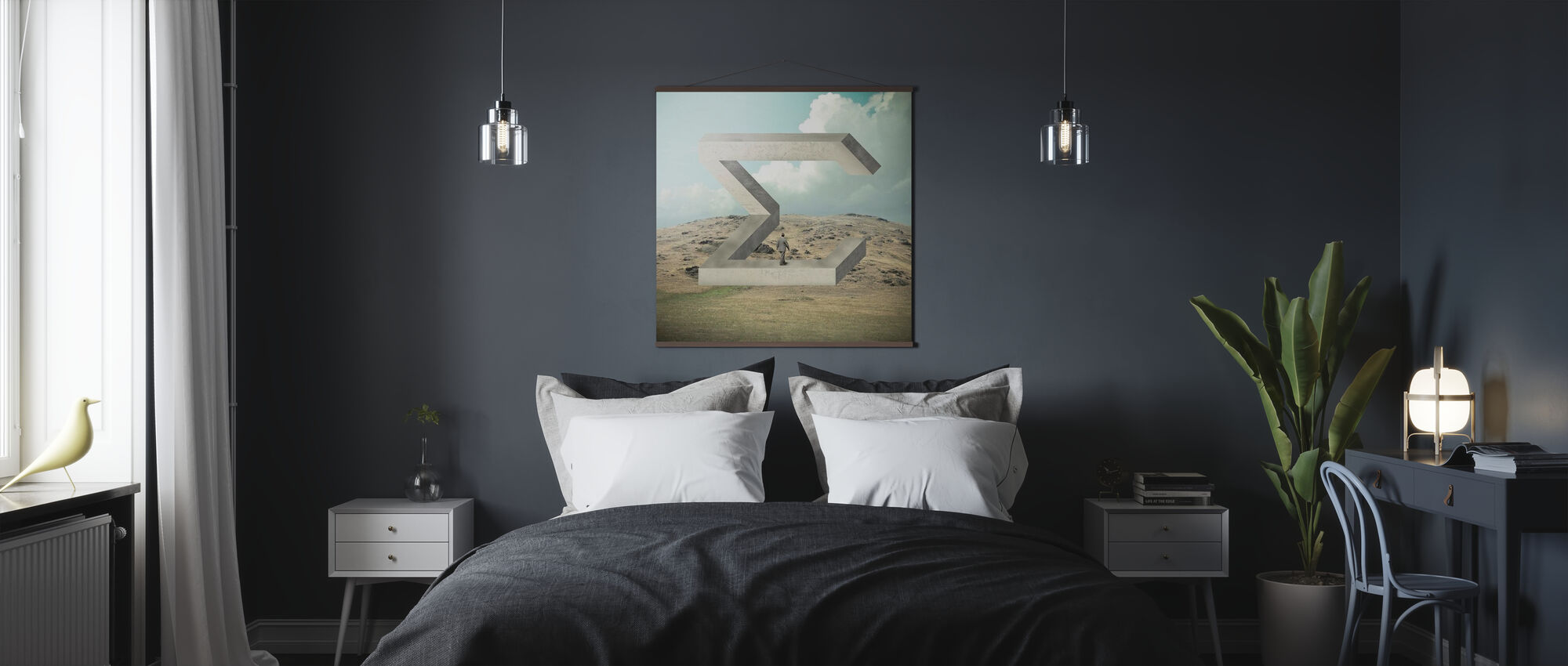 Betrag - Poster - Schlafzimmer