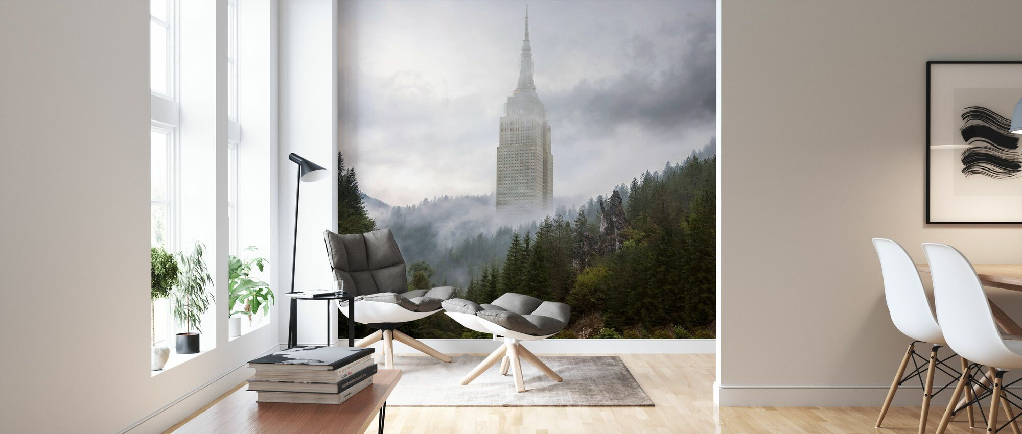 Forecity II - Wallpaper - Living Room
