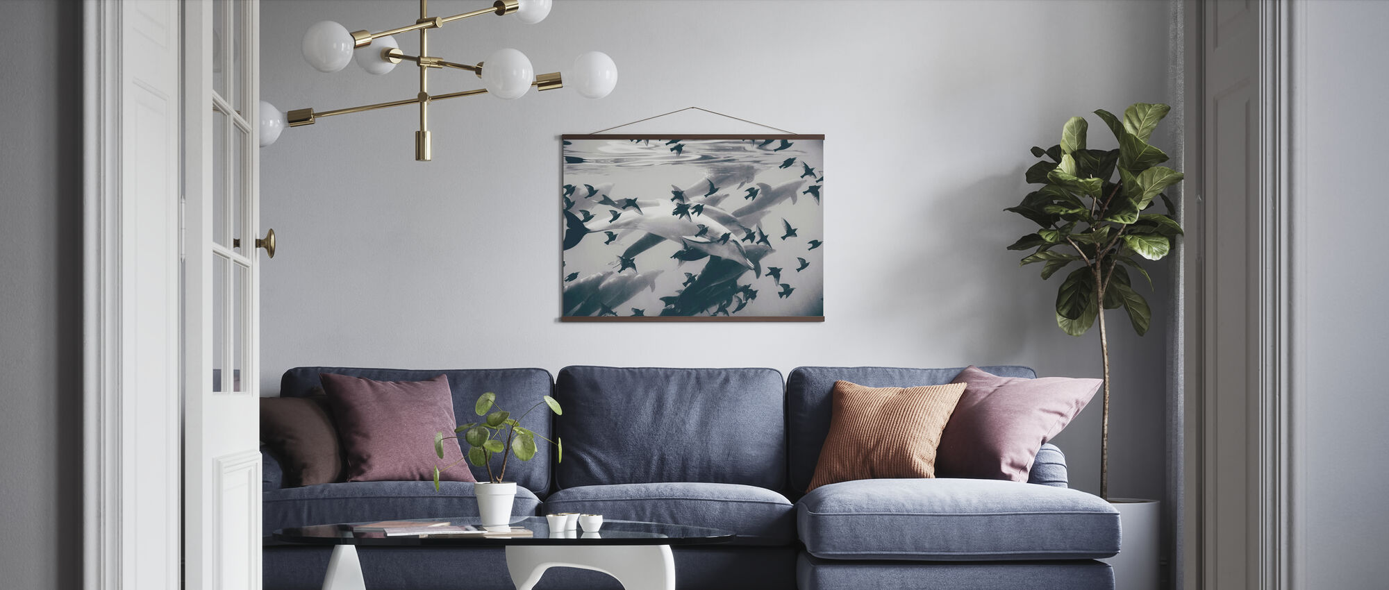 Found Out - Poster - Living Room