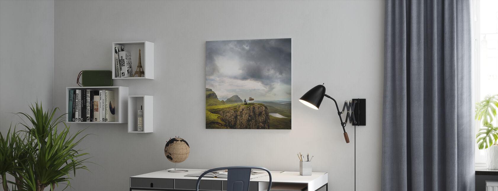 Last Chords - Canvas print - Office