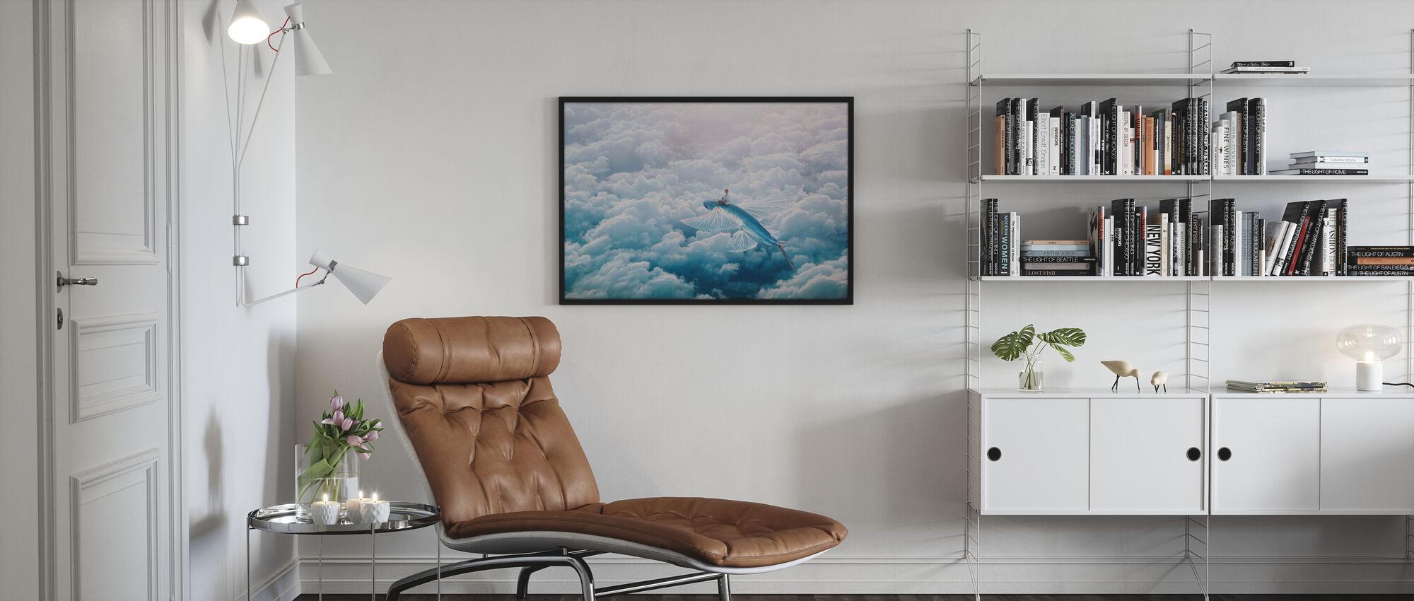 Flugzeug - Poster - Wohnzimmer