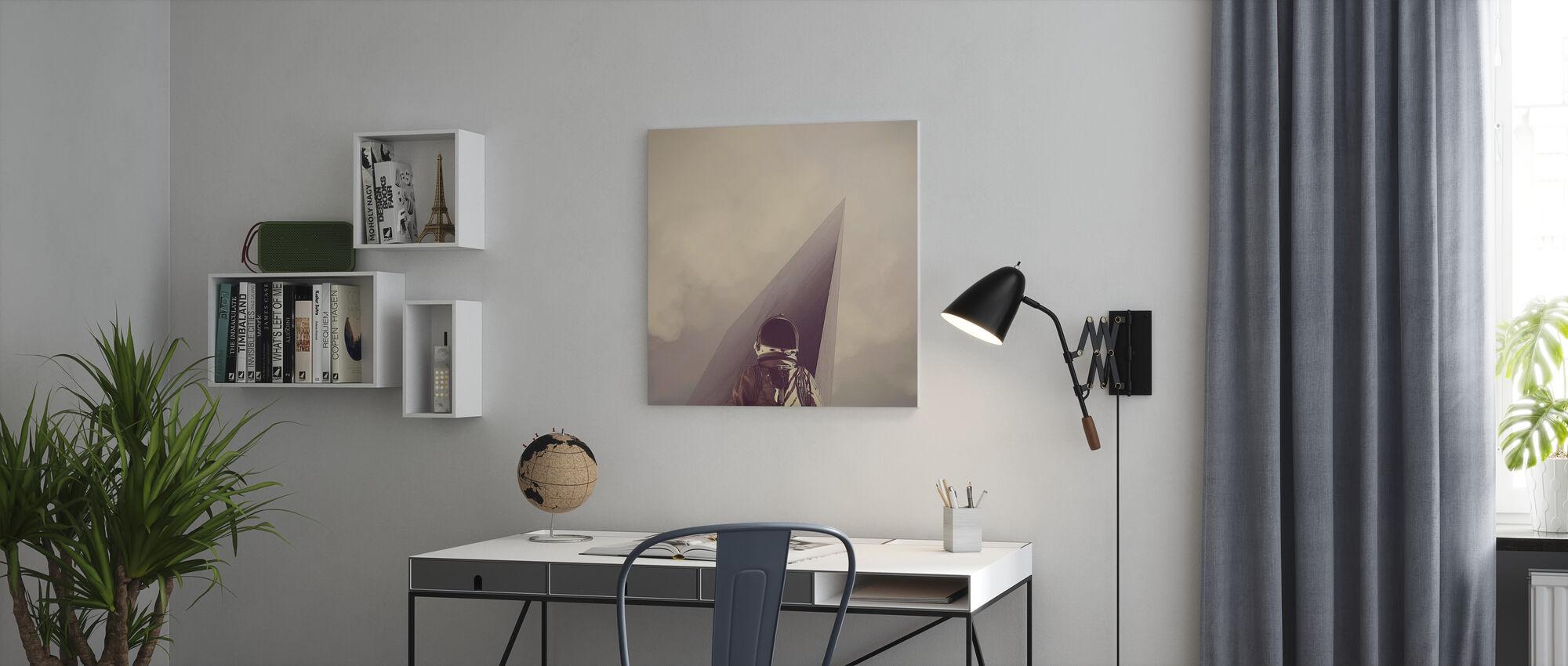 Punkt Omega - Canvastavla - Kontor
