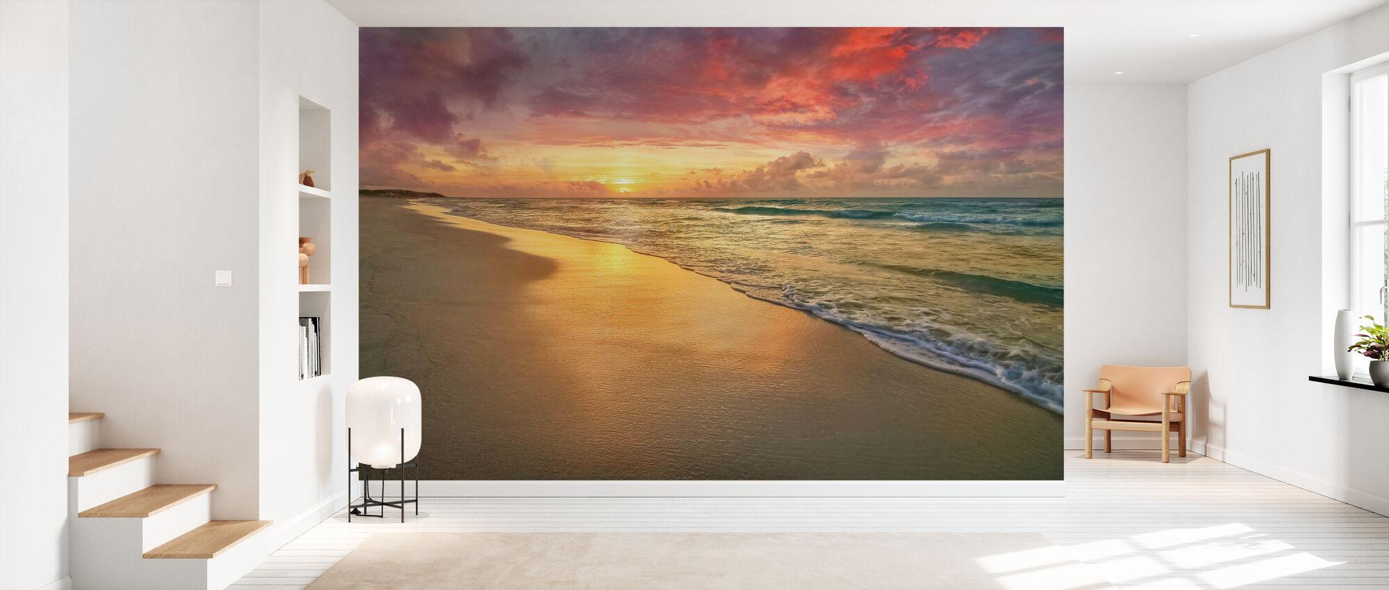 Sunset Beach - Wallpaper - Hallway