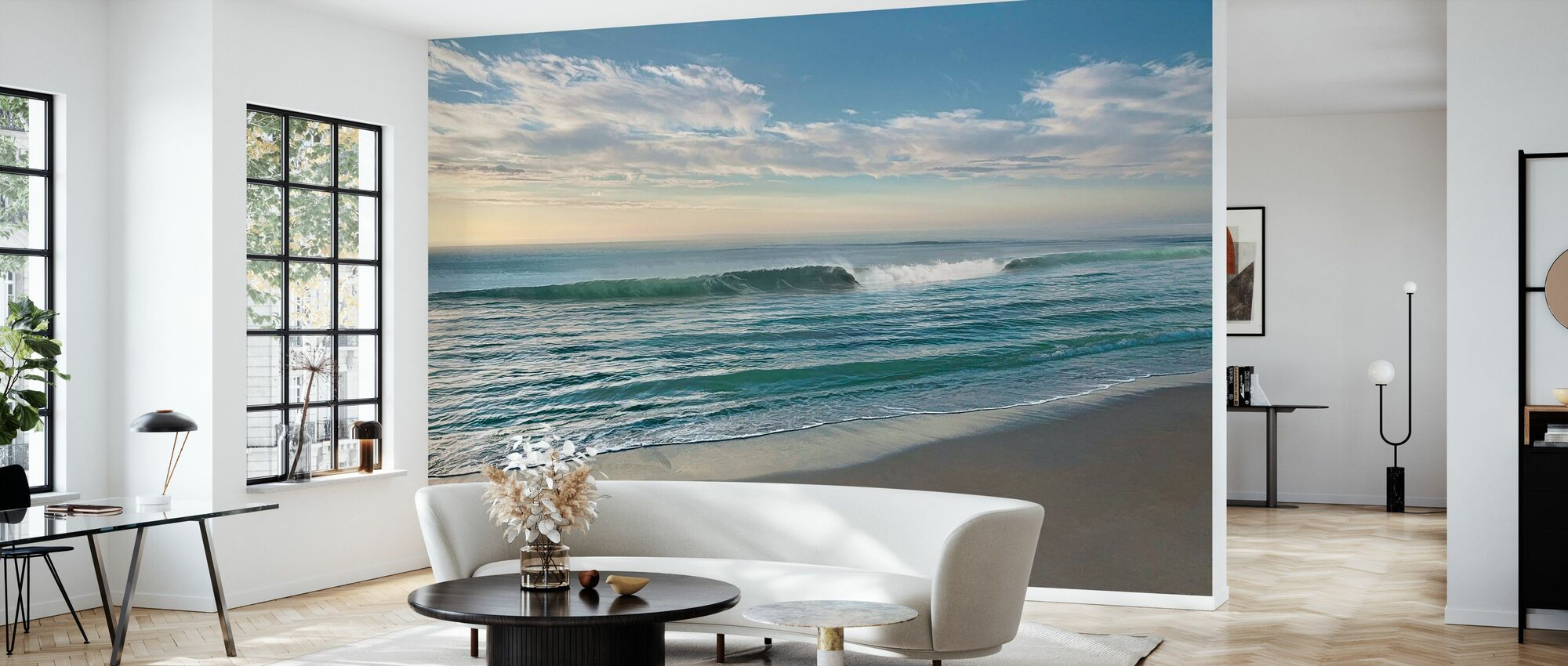 Waves of Water - Wallpaper - Living Room