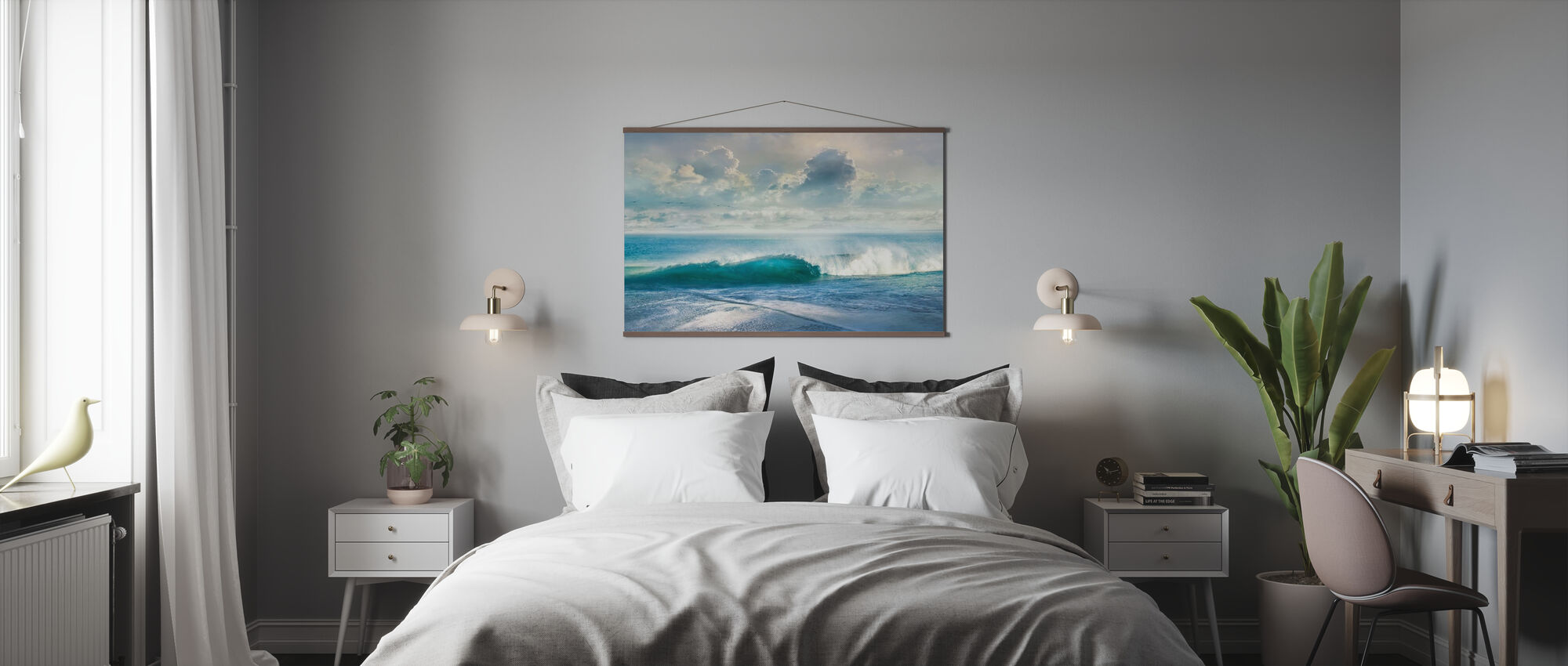 Stormy Sea - Poster - Bedroom