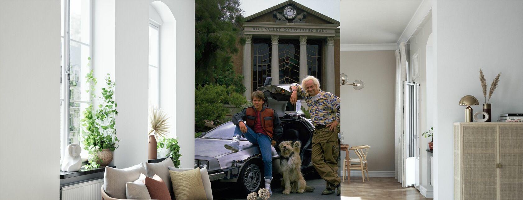 Back to the Future - Michael J Fox - Wallpaper - Living Room
