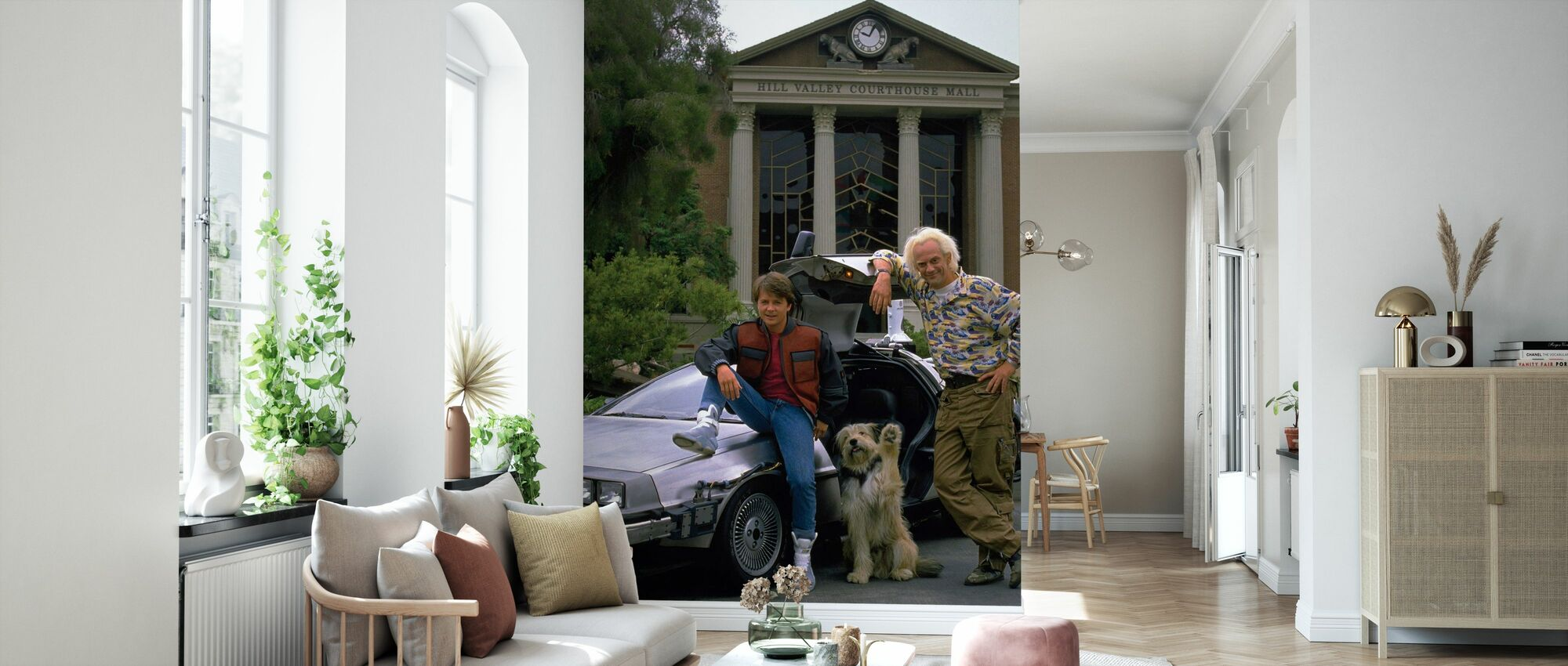 Tillbaka till framtiden - Michael J Fox - Tapet - Vardagsrum