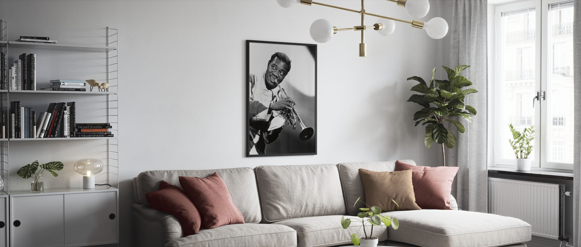 Cabin in the Sky - Louis Armstrong - Poster - Living Room