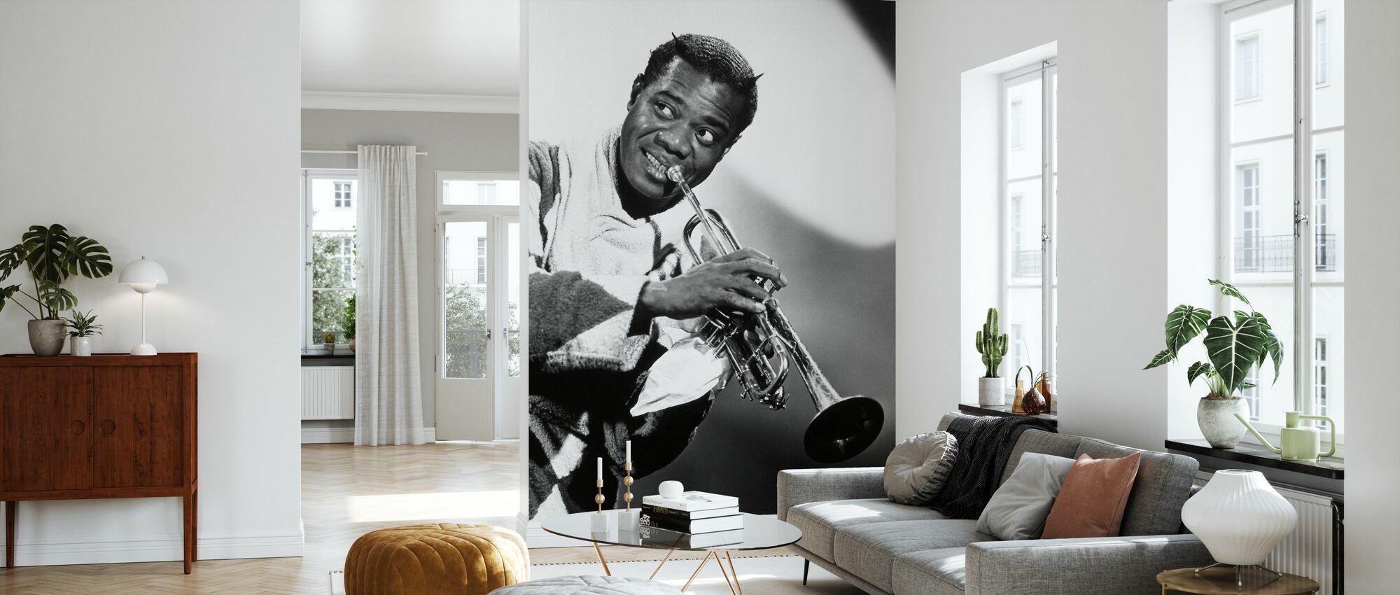 Hytte på Sky - Louis Armstrong - Tapet - Stue