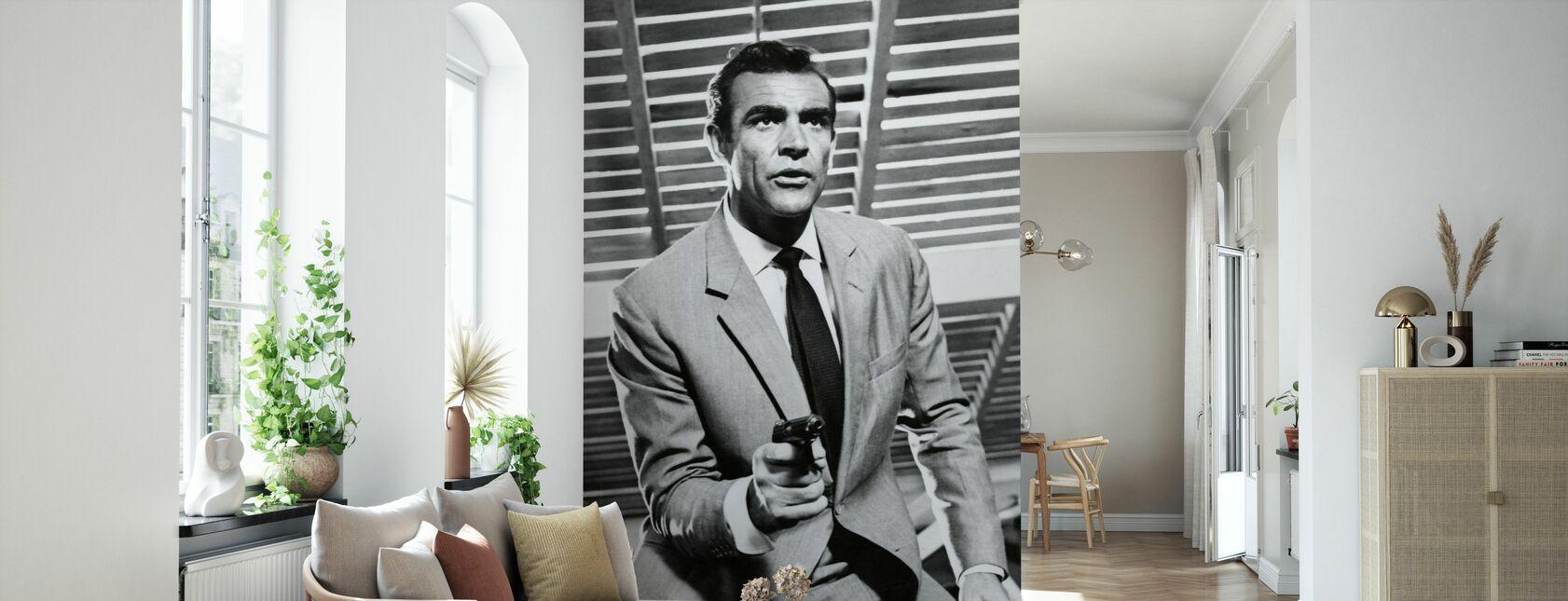 James Bond - Sean Connery - Tapet - Vardagsrum