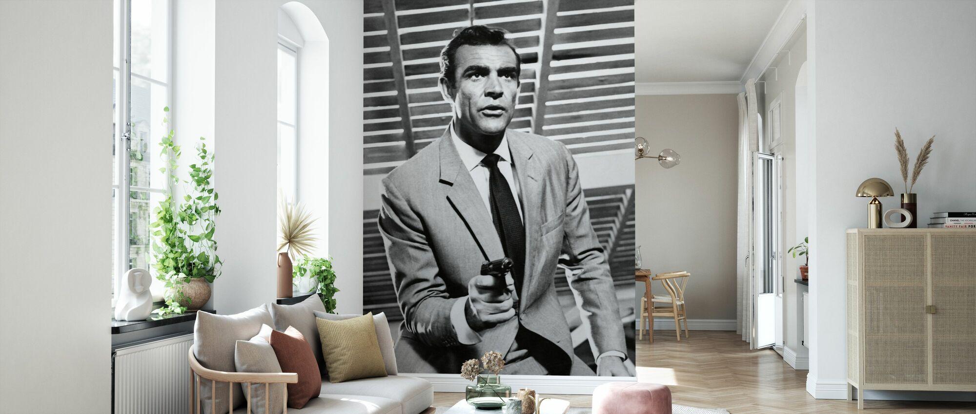 James Bond - Sean Connery - Tapete - Wohnzimmer