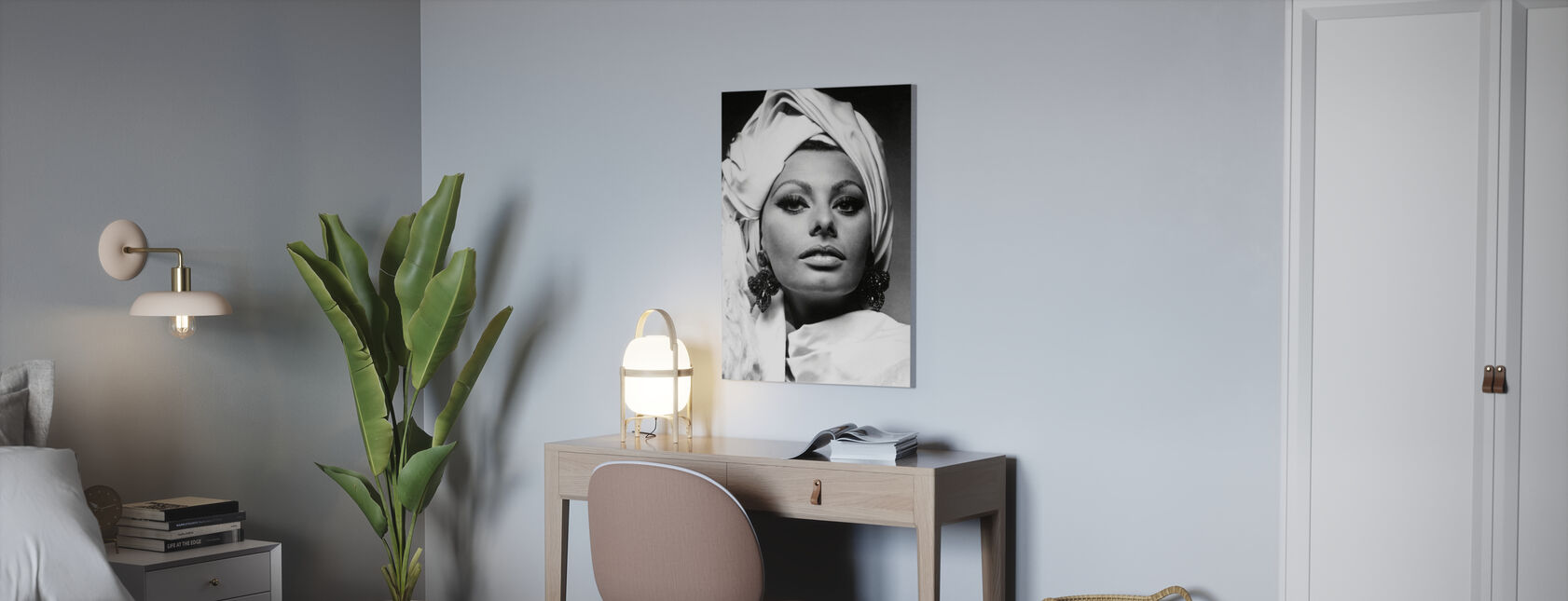 Arabeska - Sophia Loren - Obraz na płótnie - Biuro
