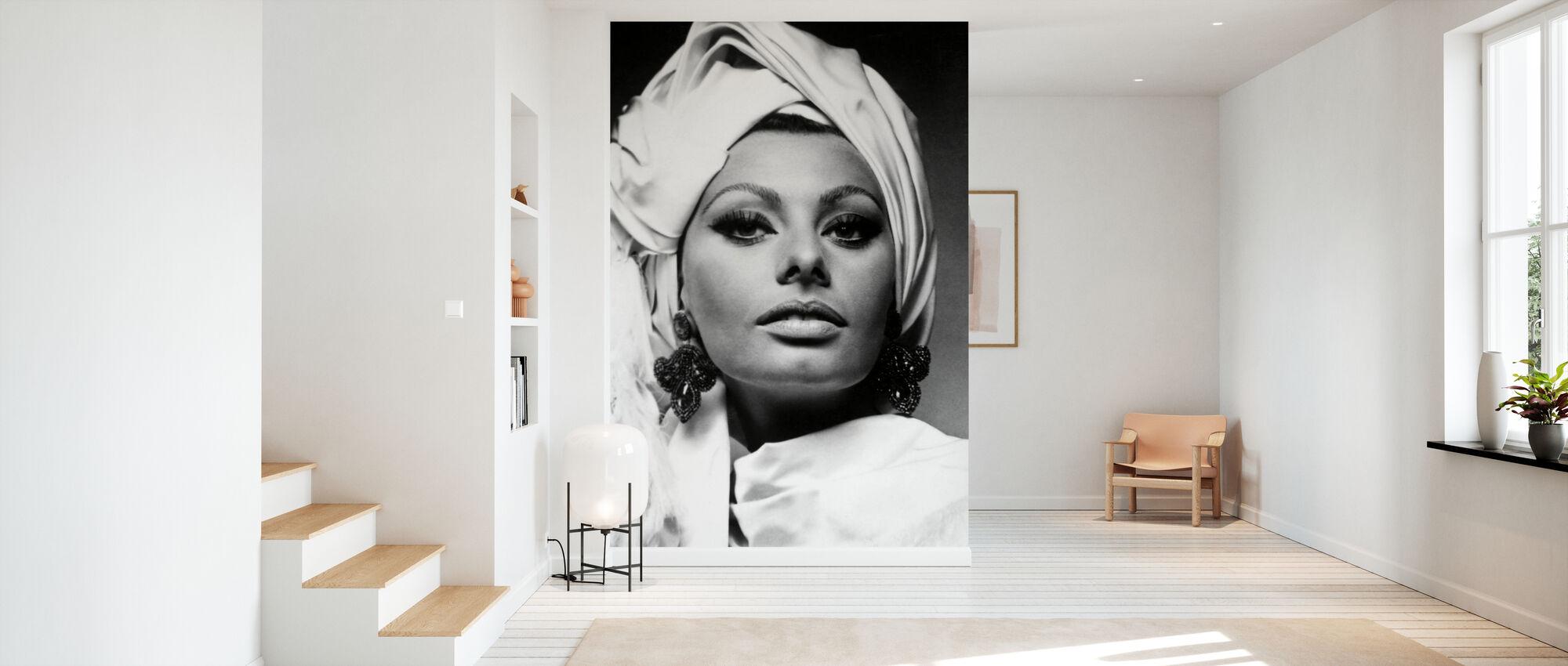 Arabesco - Sophia Loren - Carta da parati - Sala