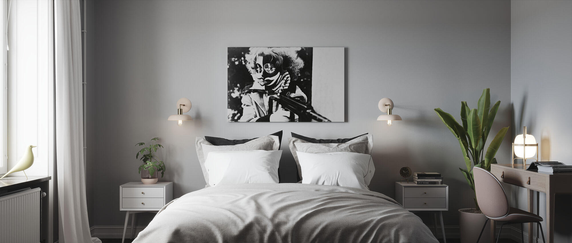 Third Generation - Hanna Schygulla - Canvas print - Bedroom