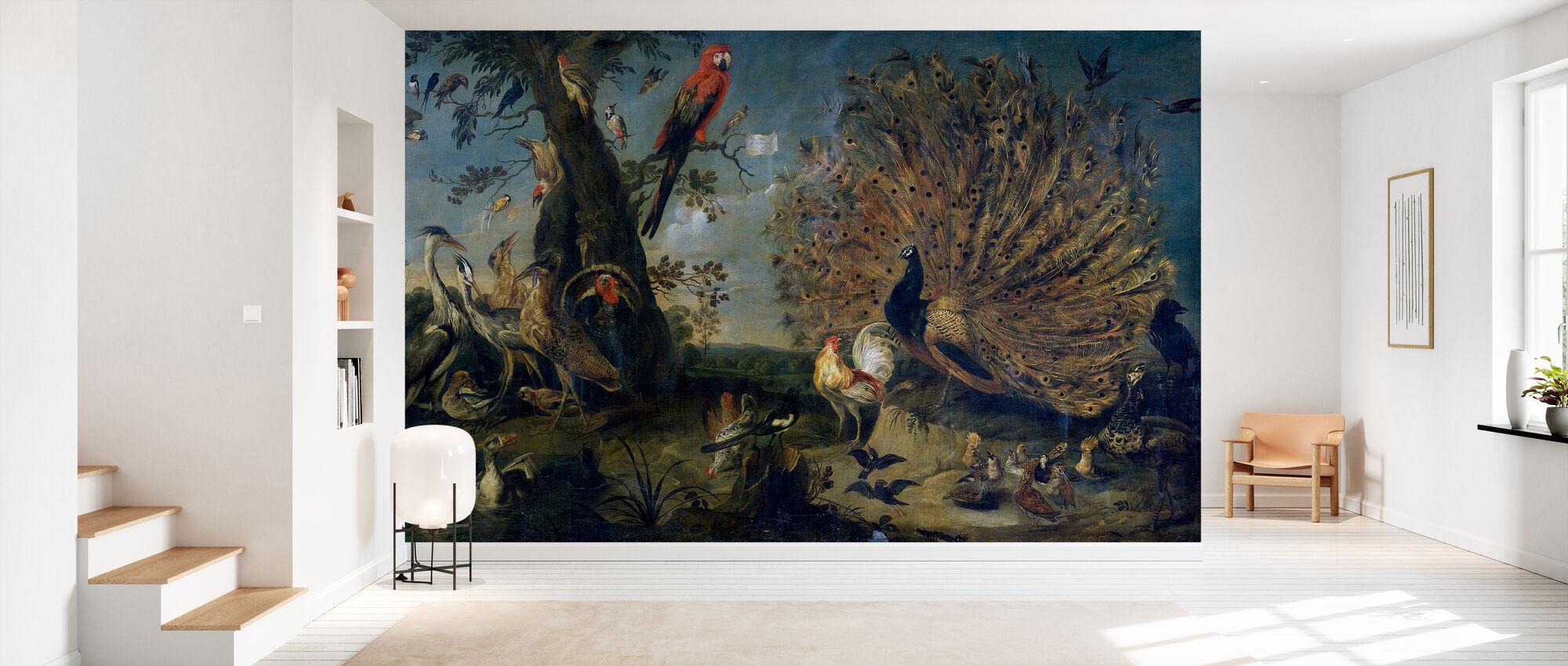 Concert of Birds - Frans Snyders - Wallpaper - Hallway