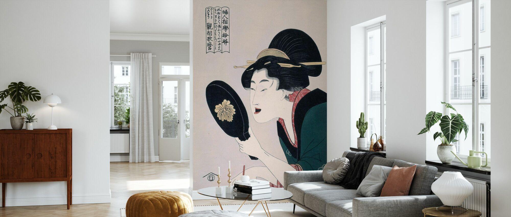 Tsuruya Kiemon - Kitagawa Utamaro - Wallpaper - Living Room