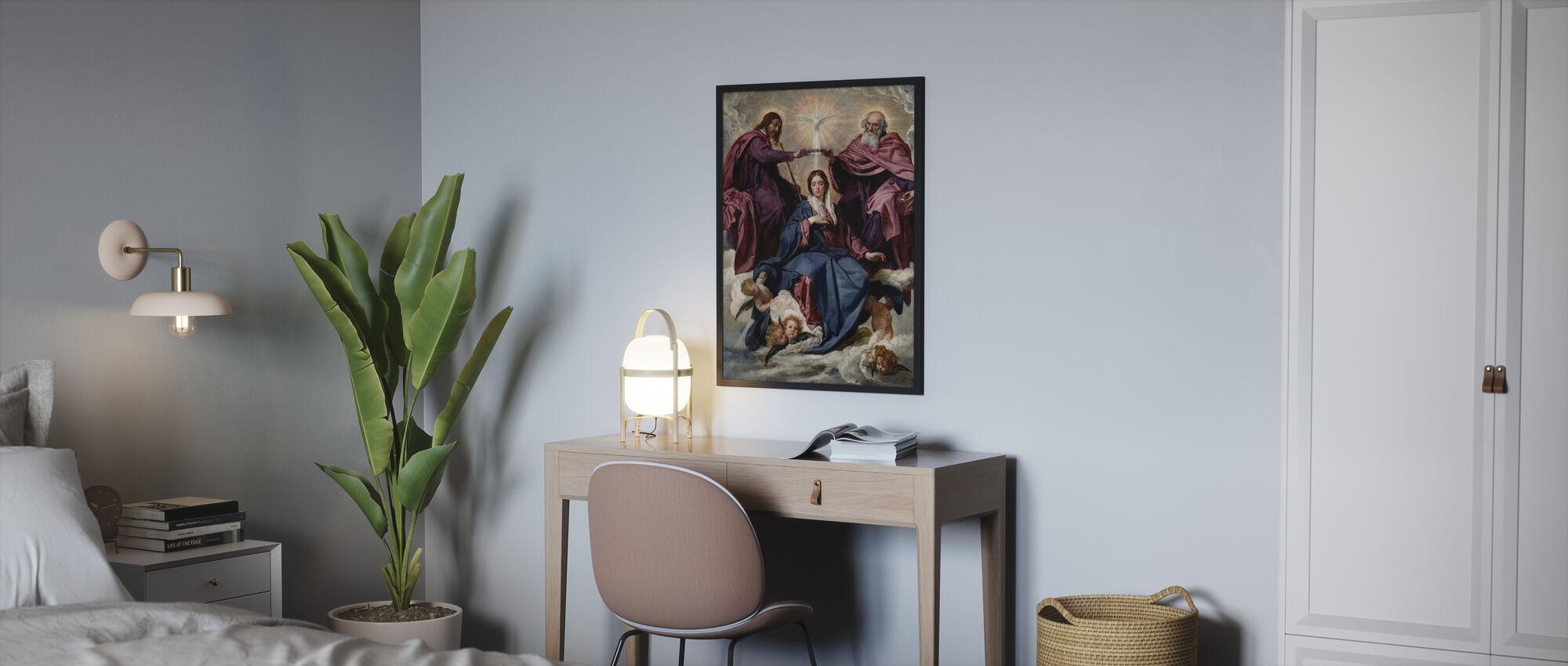 Kroning - Diego Velazquez - Innrammet bilde - Soverom