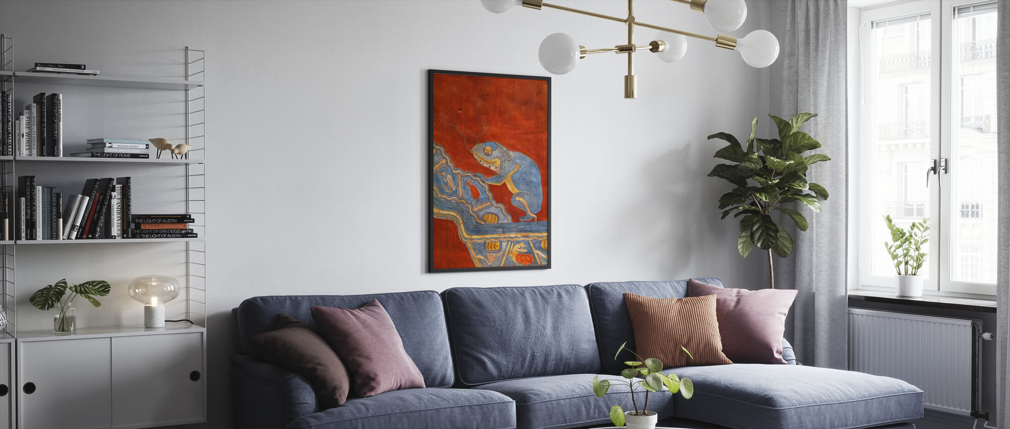 Mornings in Mexico – D HLawrence - Framed print - Living Room