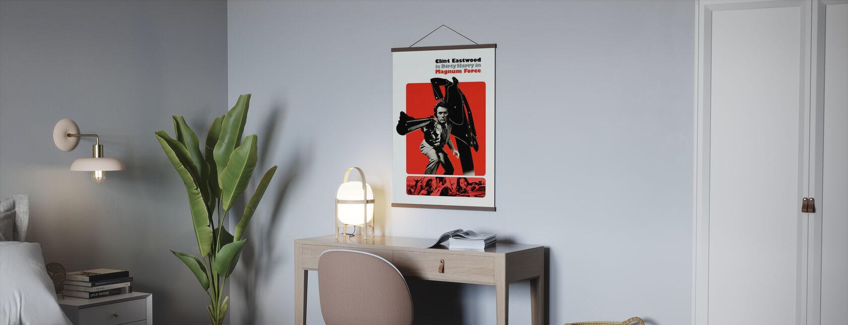 Magnum Force - Clint Eastwood - Poster - Kantoor
