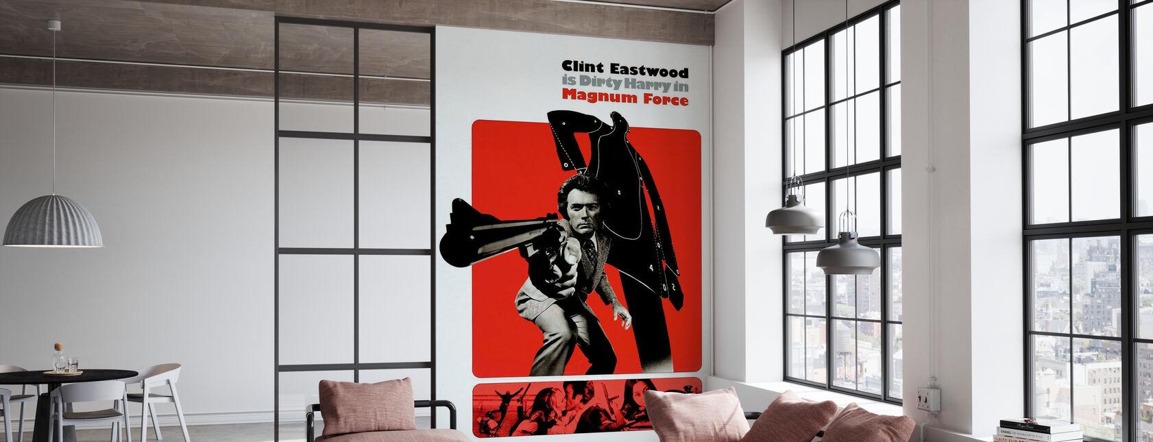 Magnum Force - Clint Eastwood - Behang - Kantoor