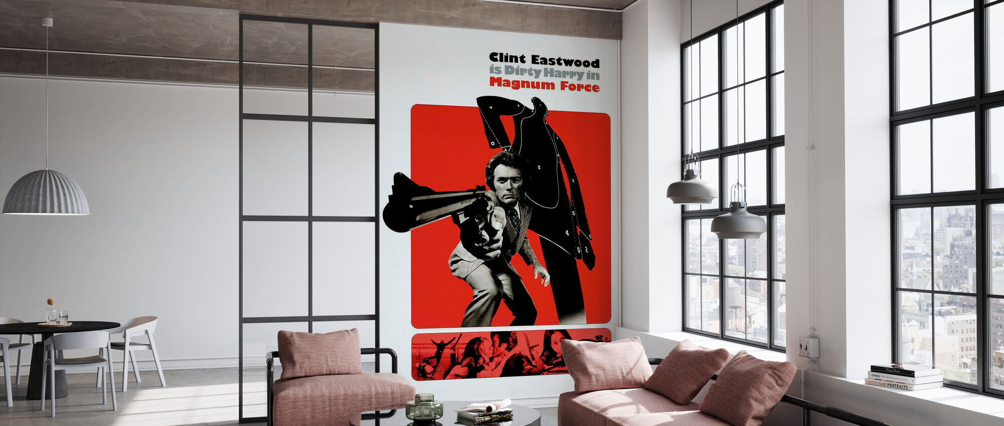 Magnum Force - Clint Eastwood - Wallpaper - Office