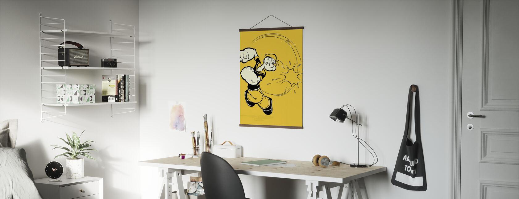 Popeye punsj - Plakat - Kontor