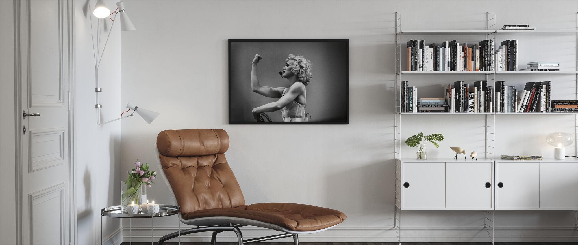Drücken Sie sich selbst - Madonna - Gerahmtes bild - Wohnzimmer