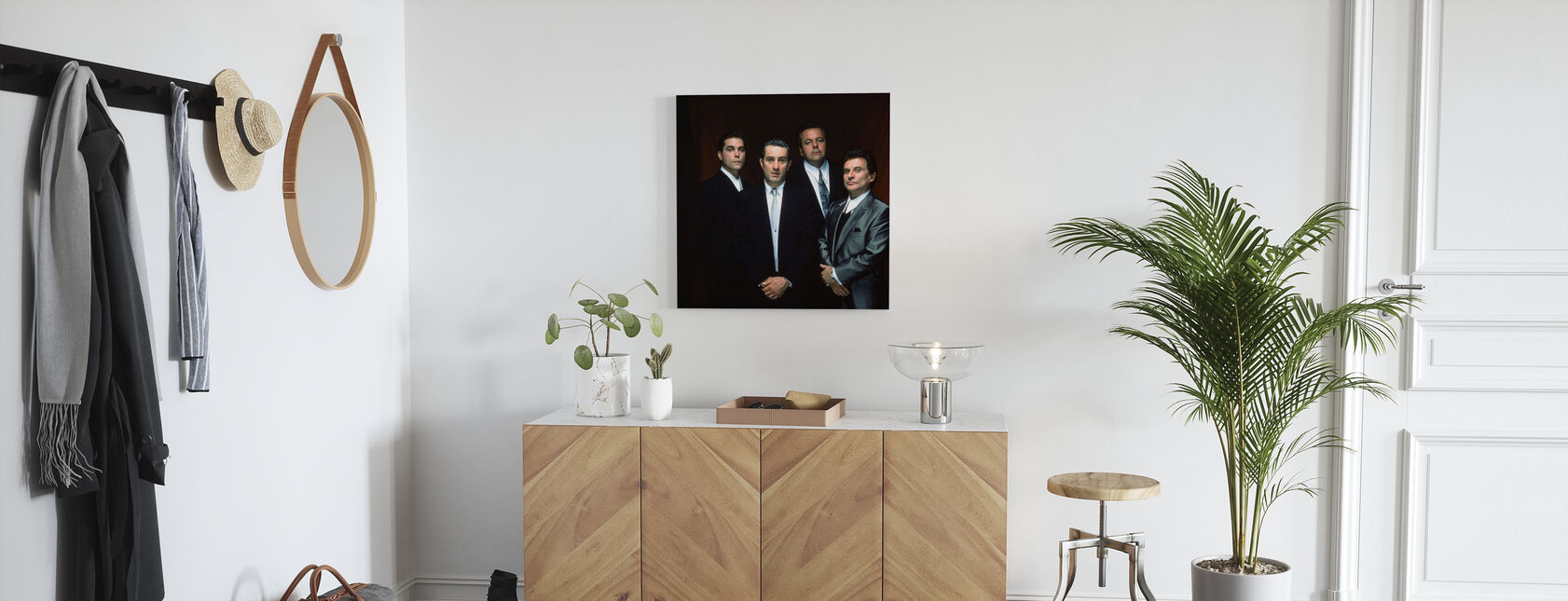 Goodfellas - Robert De Niro - Canvas print - Hallway