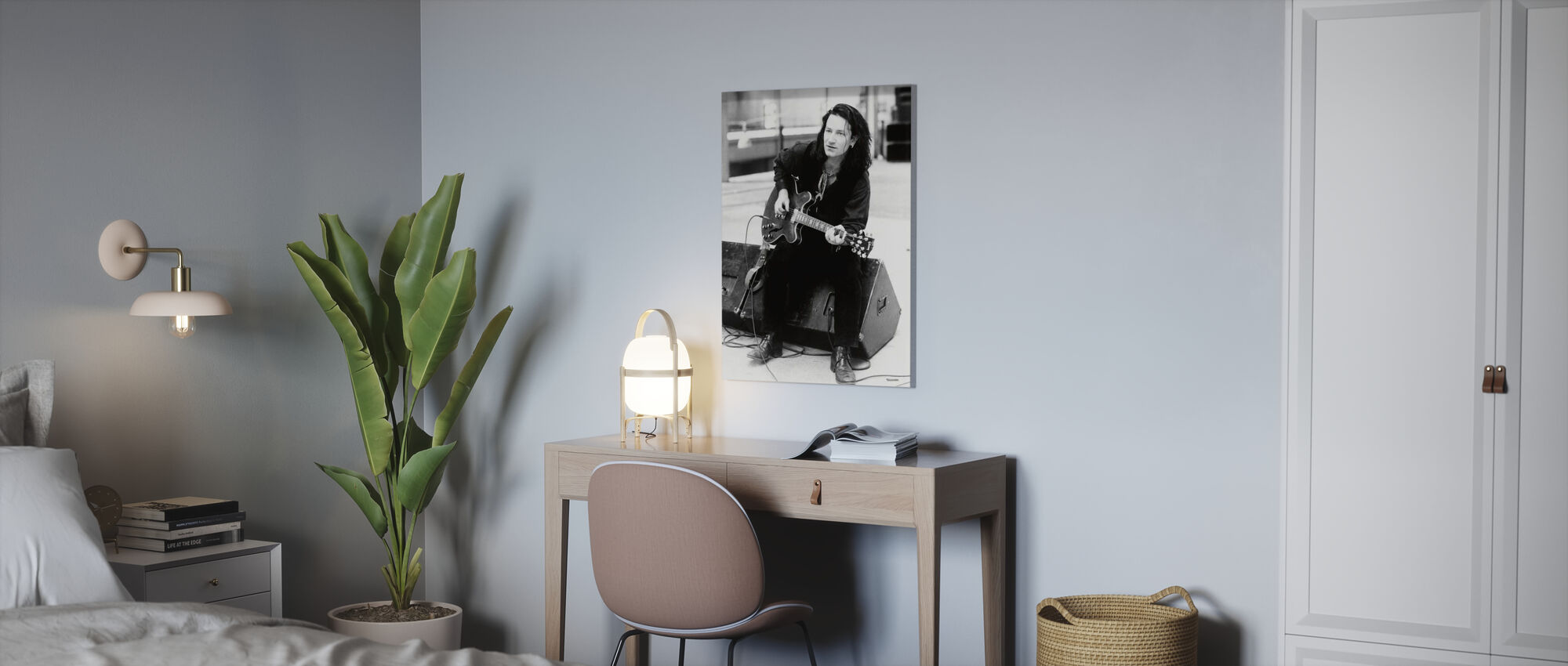 Rattle and Hum - Bono - Canvas print - Office