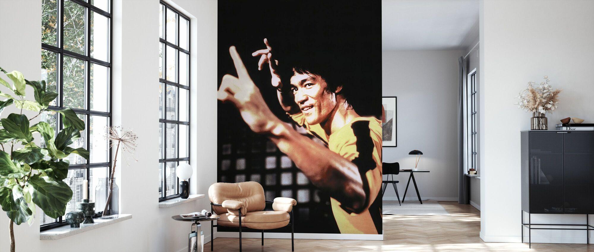 Warriors Journey - Bruce Lee - Wallpaper - Living Room