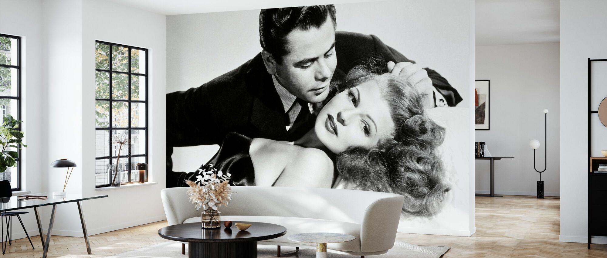 Gilda - Glenn Ford och Rita Hayworth - Tapet - Vardagsrum