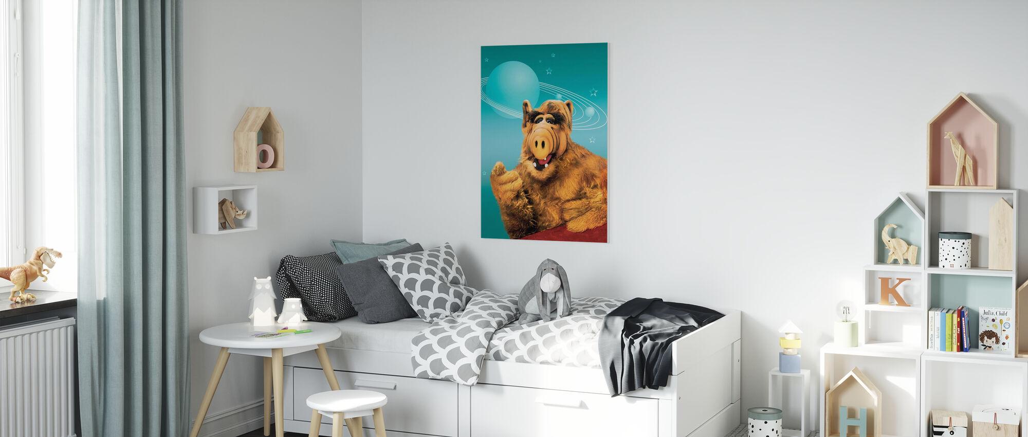 Alf - Paul Fusco en Tom Patchett - Canvas print - Kinderkamer