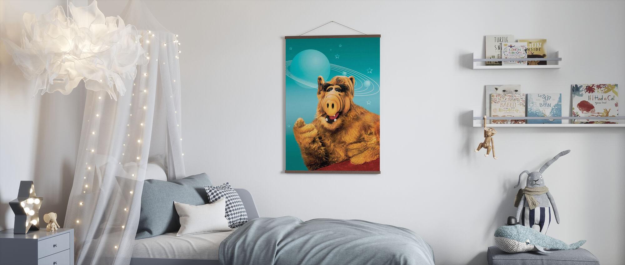 Alf - Paul Fusco en Tom Patchett - Poster - Kinderkamer