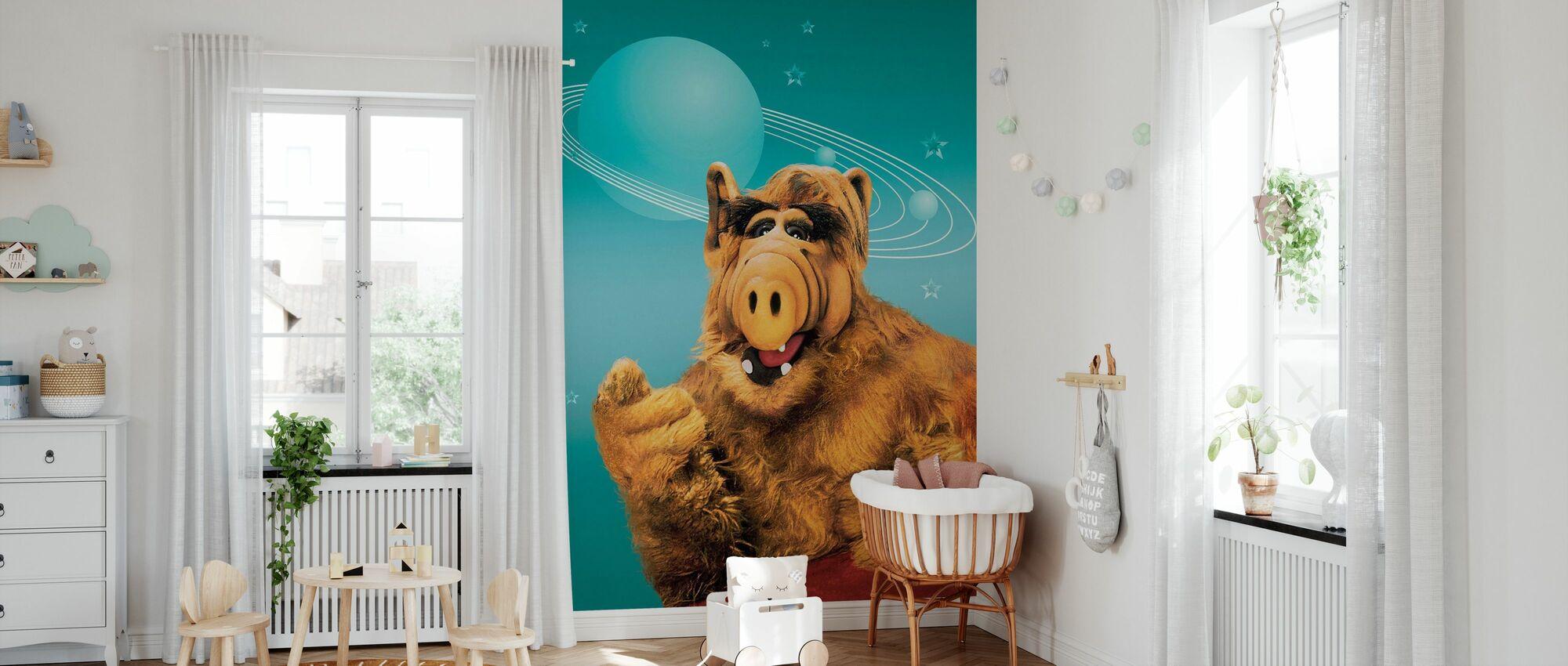 Alf - Paul Fusco en Tom Patchett - Behang - Babykamer