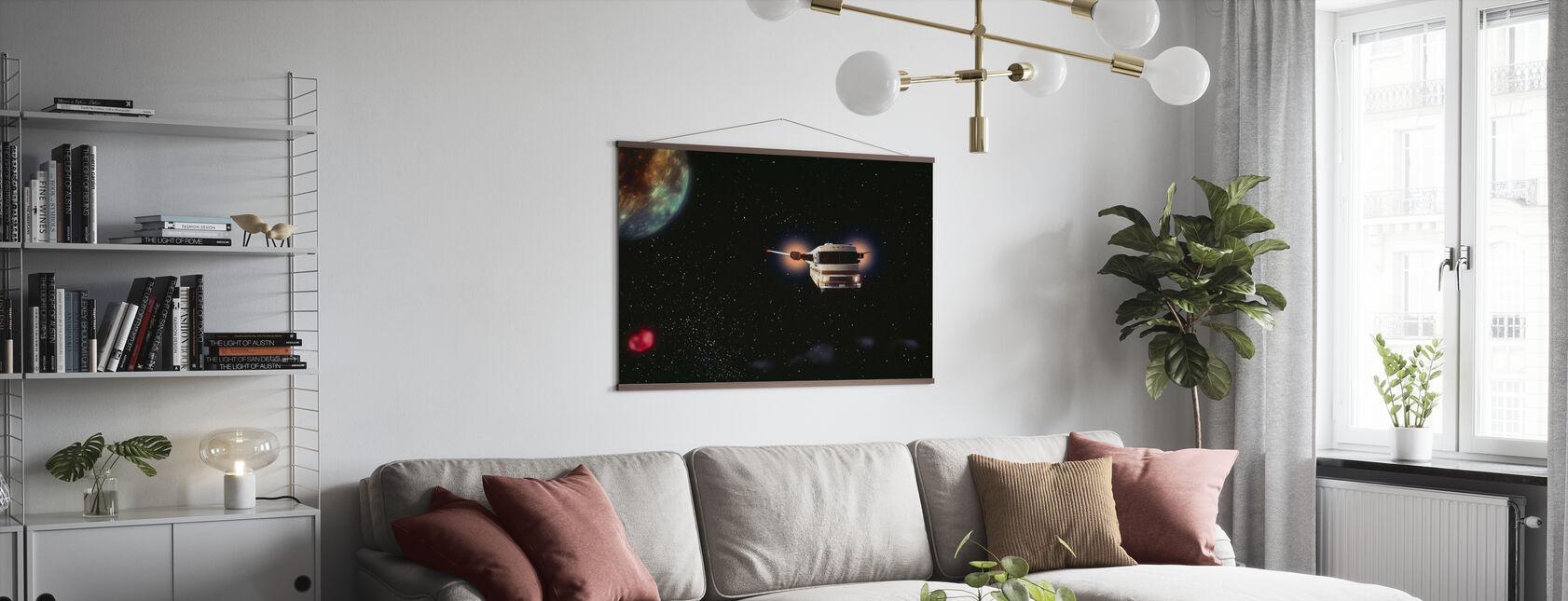 Spaceballs - Mel Brooks - Poster - Woonkamer