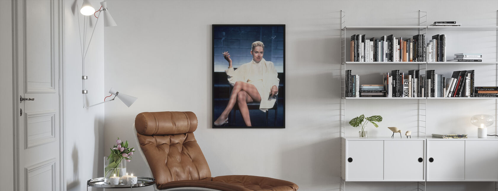 Instynkt podstawowy - Sharon Stone - Plakat - Pokój dzienny