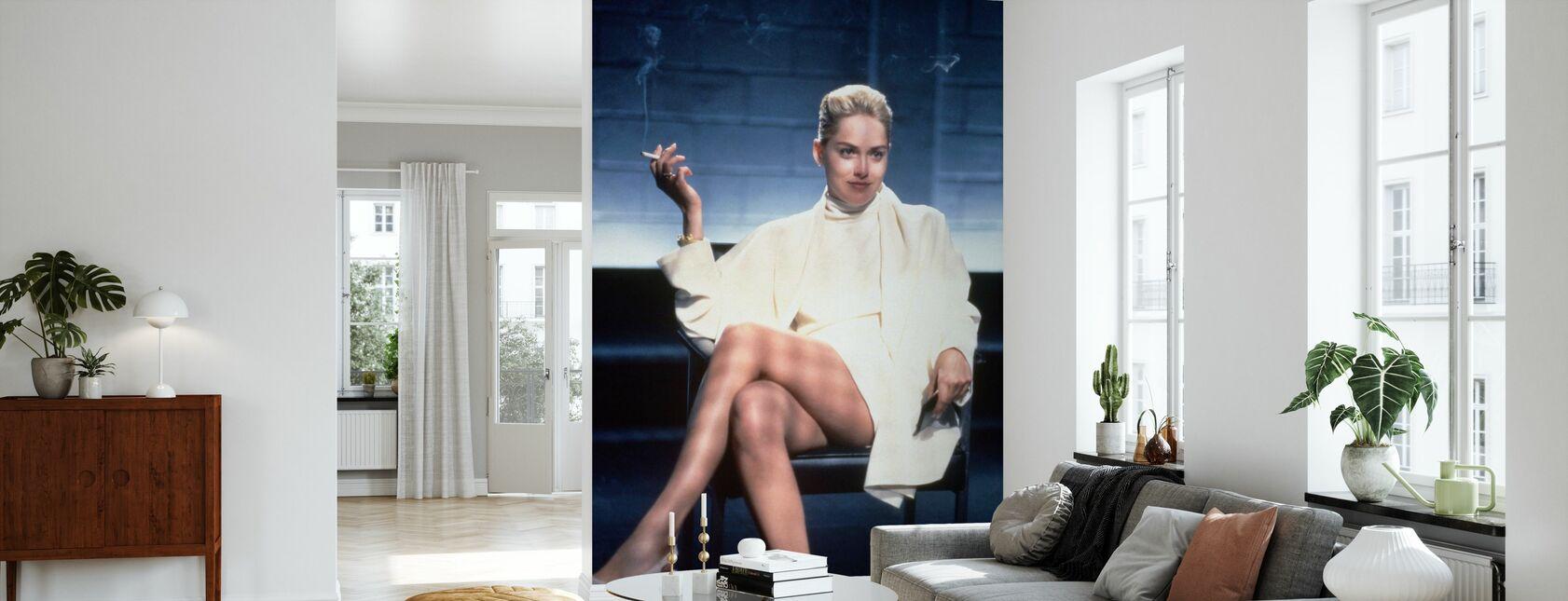 Grunnleggende instinkt - Sharon Stone - Tapet - Stue