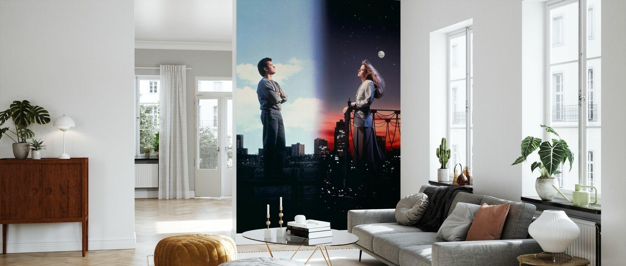 Sömnlös i Seattle - Tom Hanks och Meg Ryan - Tapet - Vardagsrum