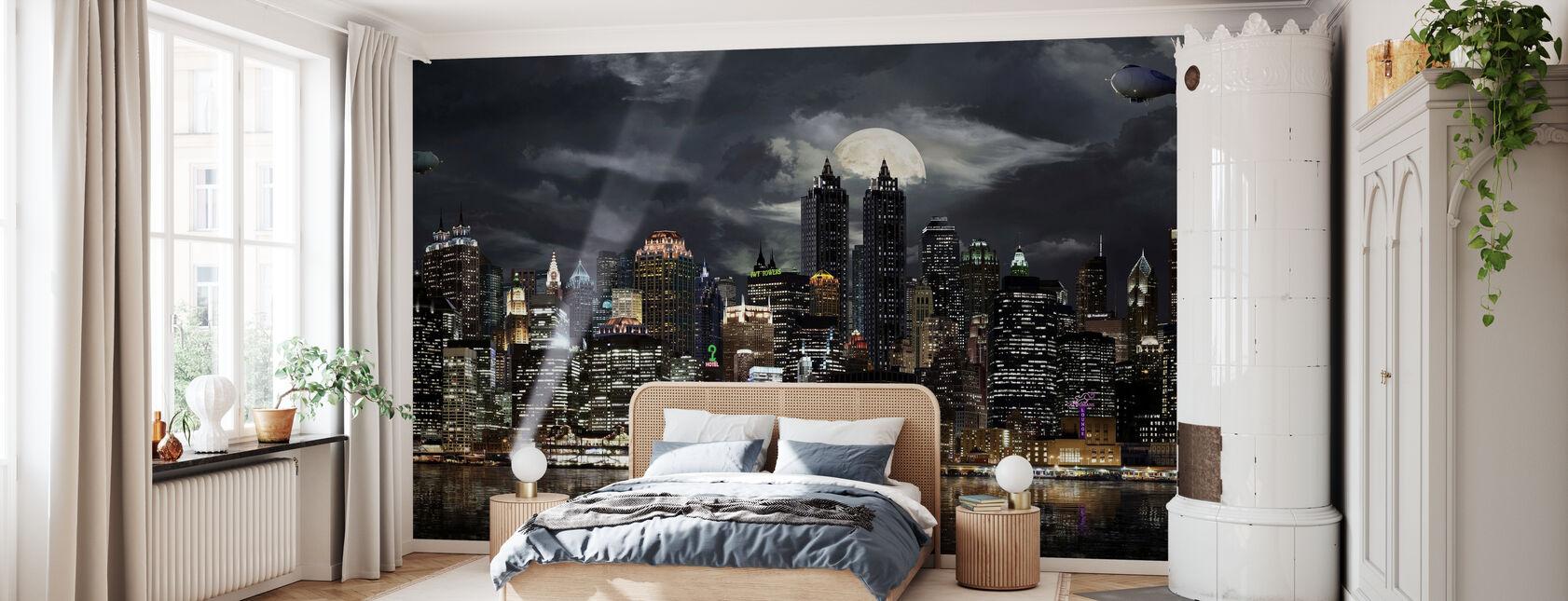 Gotham. - Ja - Behang - Slaapkamer