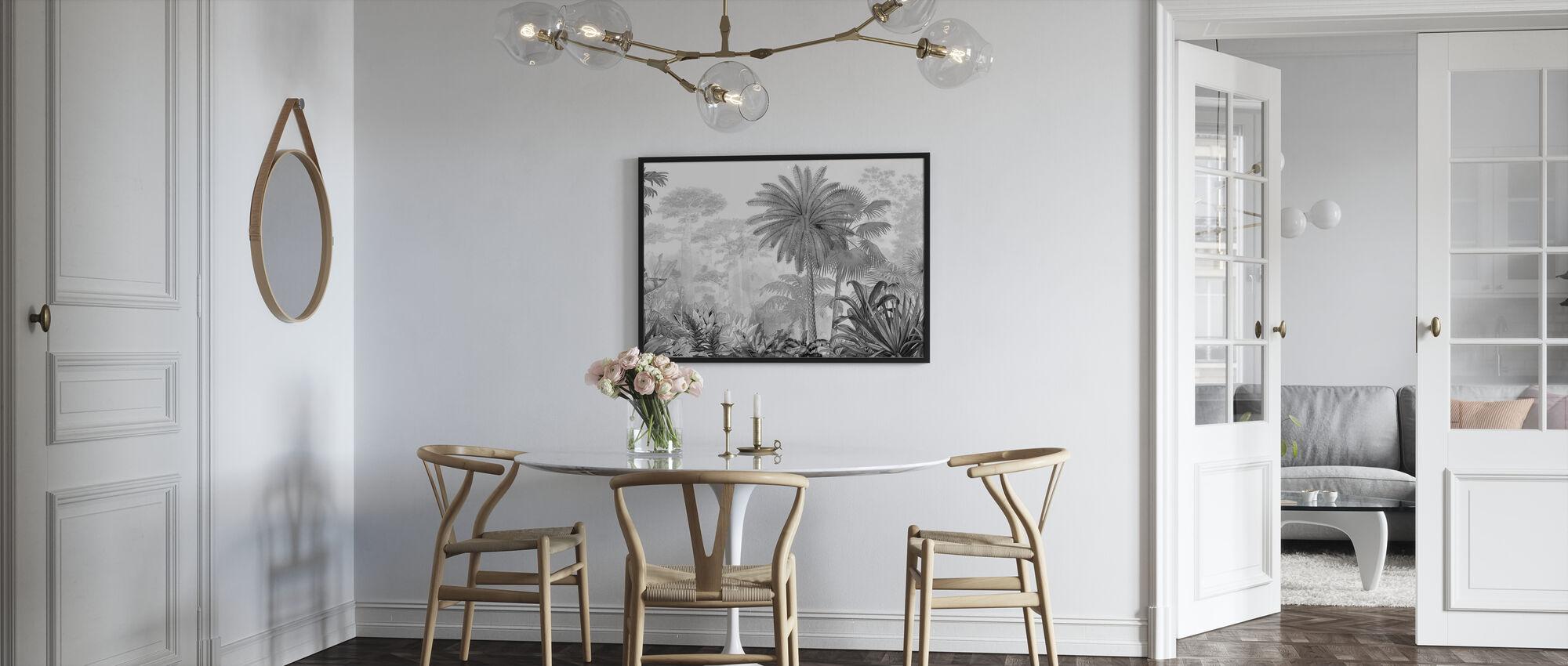 Tropisk Eden - Plakat - Kjøkken