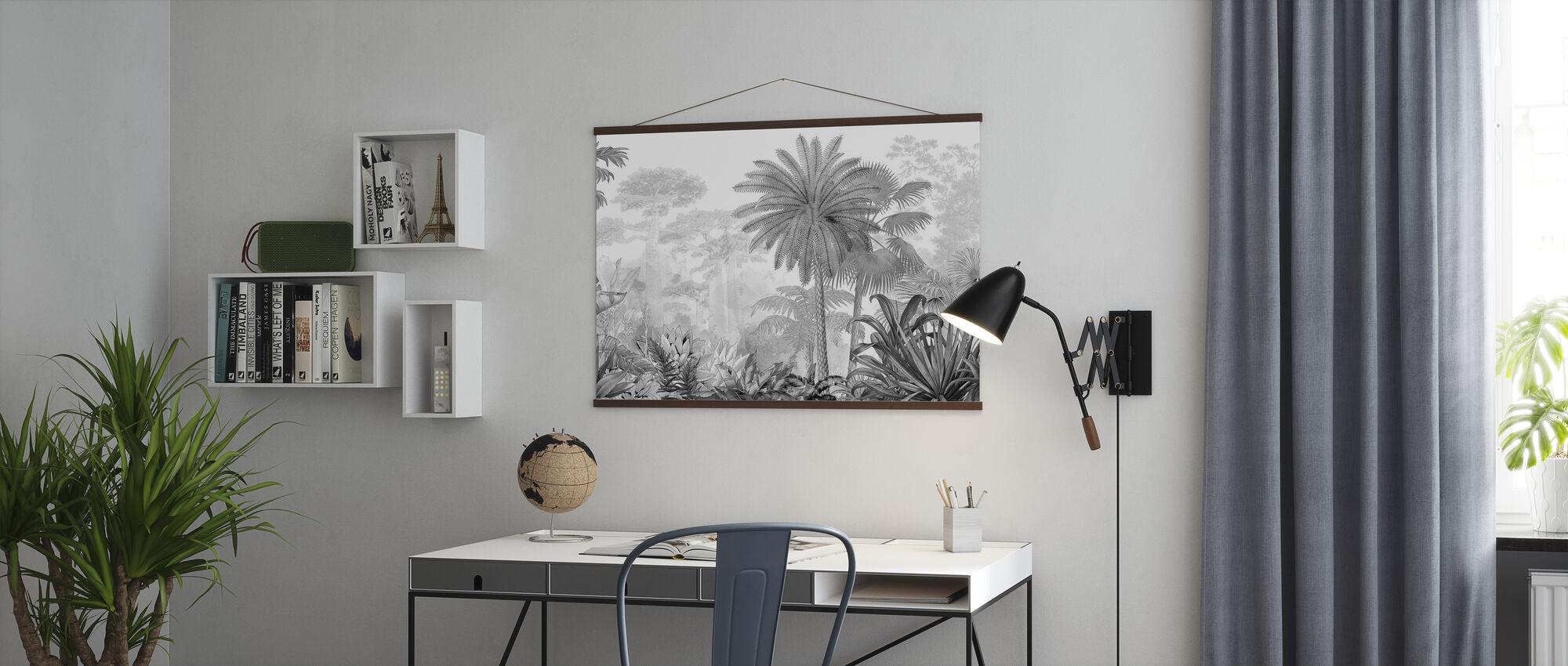 Tropical Eden - Poster - Office