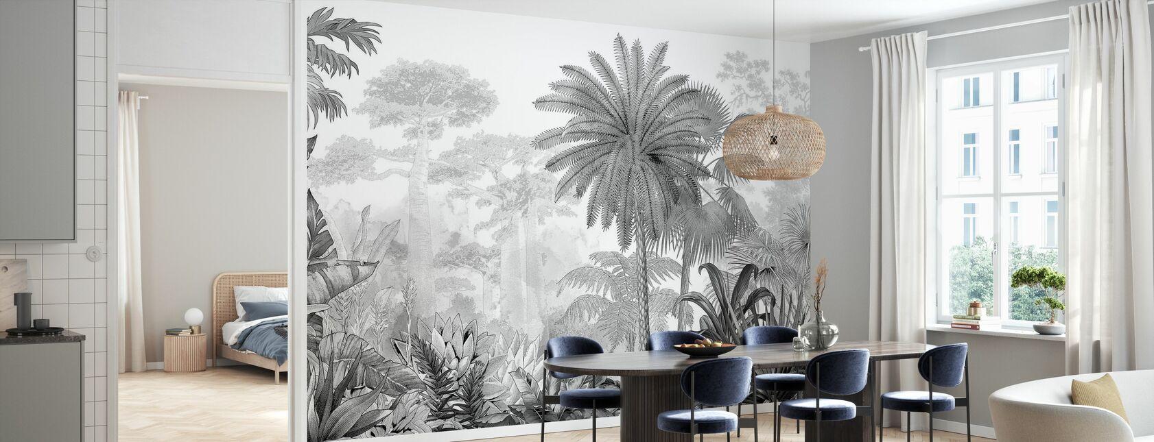 Eden Tropical - Papier peint - Cuisine