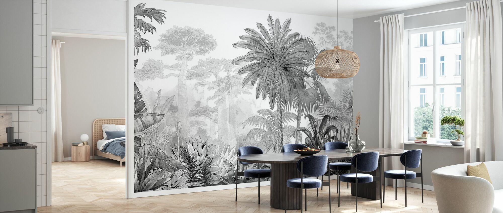 Eden tropicale - Carta da parati - Cucina