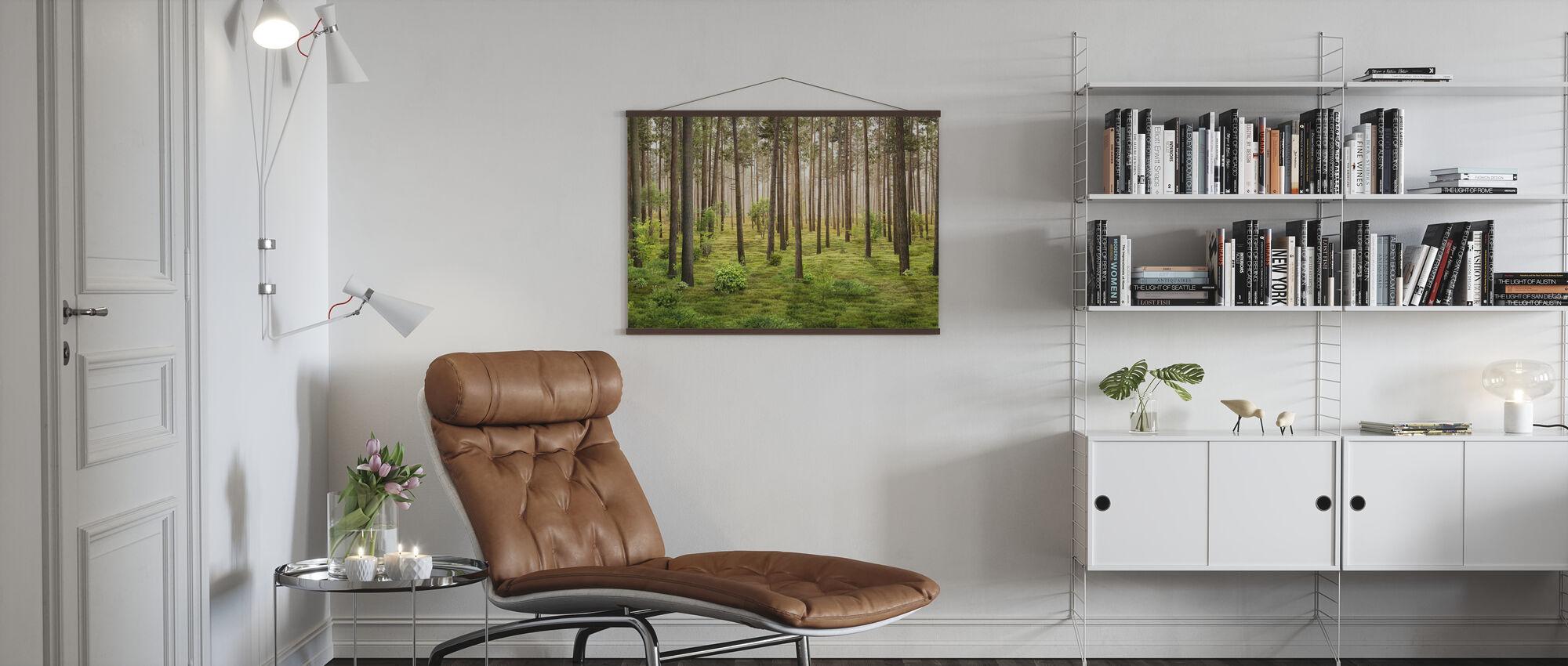 I skogen - Plakat - Stue