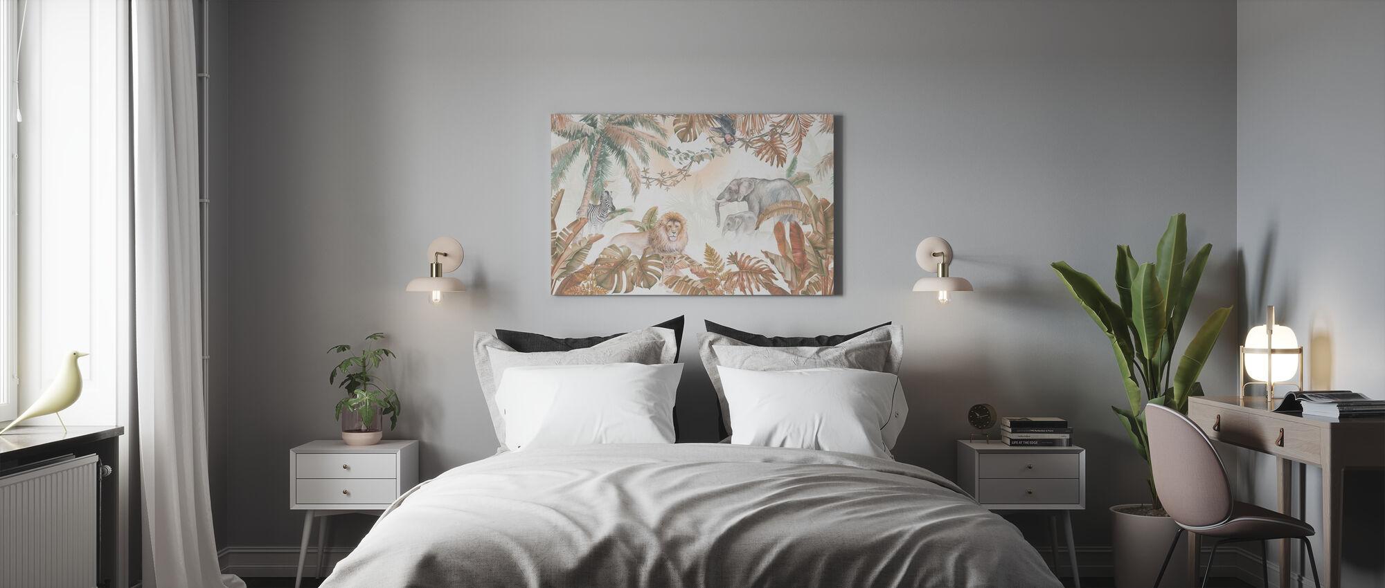 Jungle Dieren - Hazel - Canvas print - Slaapkamer