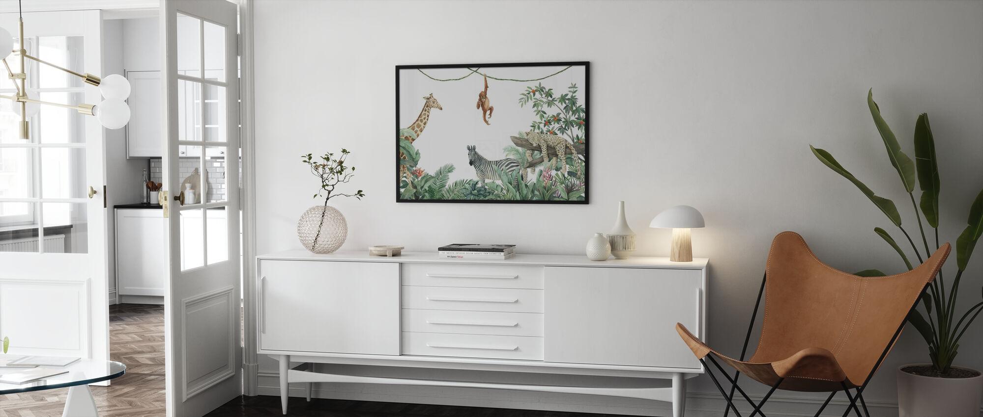 Jungle Friends - Poster - Living Room